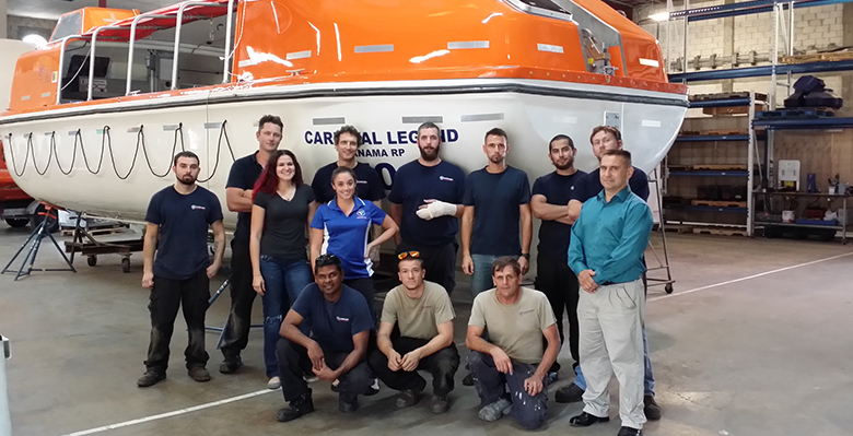 Fassmer Service America finishes it's first overhaul